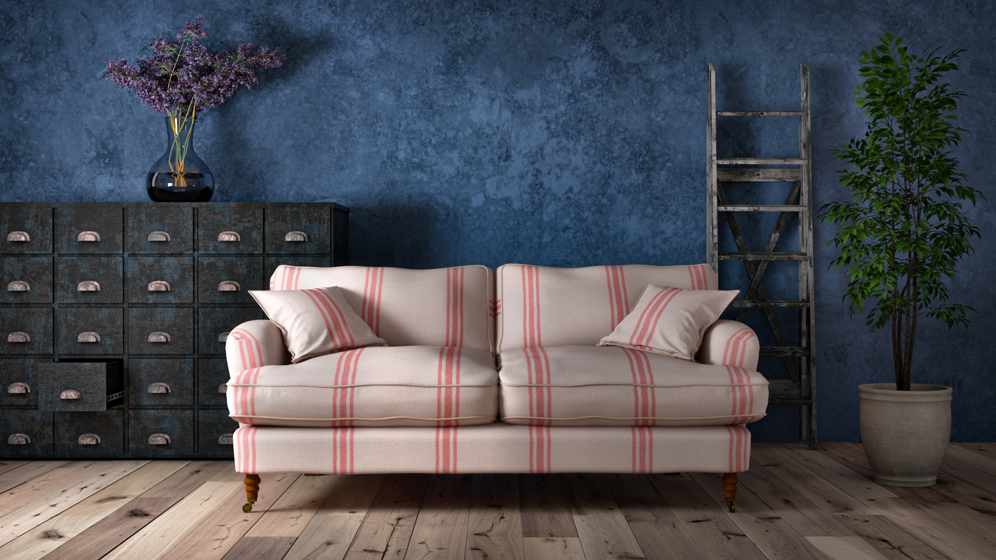 physical sofa photo to duplicate in 3D