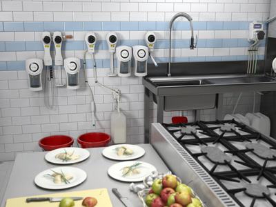 Product Design 3D in Commercial Kitchens