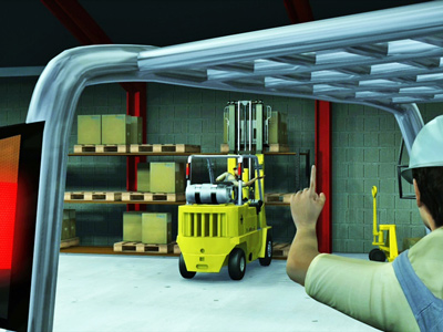 Forklift Accident Safety Animation